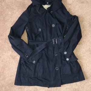 Burberry Brit Oversized Trench   US 4